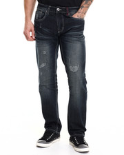 Men - Distressed Denim Jeans