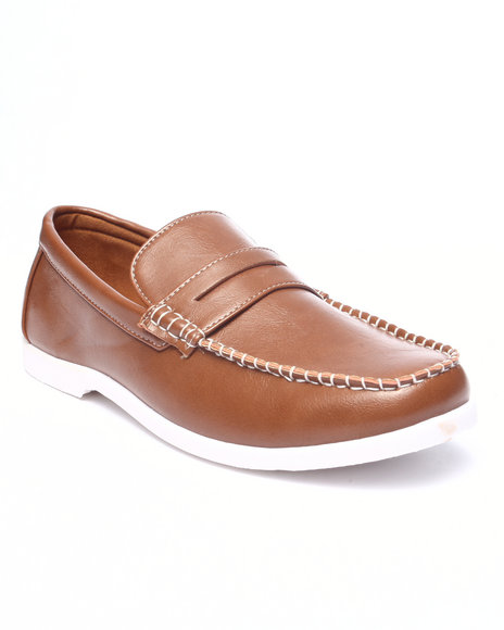 Buyers Picks - Men Tan Seth Penny Loafer