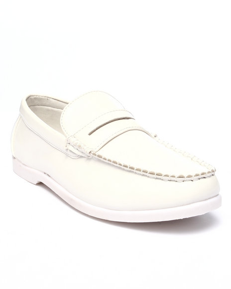 Buyers Picks - Men White Seth Penny Loafer