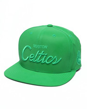 Mitchell & Ness - Boston Celtics Embroidered Script Tonal Reflective Snapback