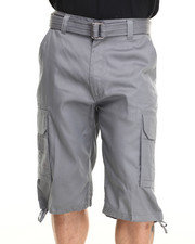 Miskeen - Core Twill Belted Cargo Shorts