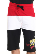 Akademiks - Johnny Color Block Drawstring Shorts