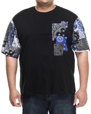 Men - Jacob Bandana Patchwork S/S Tee (B&T)