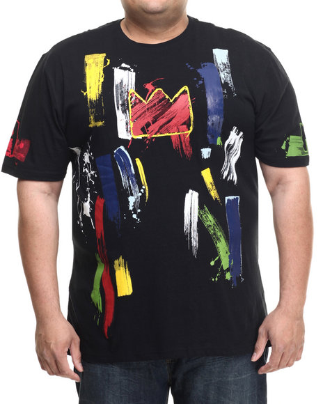 Akademiks - Men Black Earl S/S Tee (B&T)