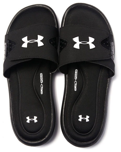 Under Armour - Men Black Ignite Iv Sl Sandals