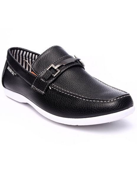 Ur-ID 216172 Akademiks - Men Black Penny Buckle Dress Shoe