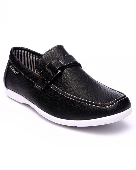Ur-ID 216168 Akademiks - Men Black Classic Side Buckle Shoe