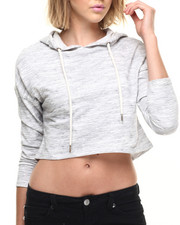 Women - Marled French Terry Hoodie