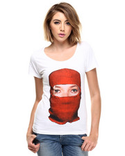Tops - CaMoss W - Mask Tee