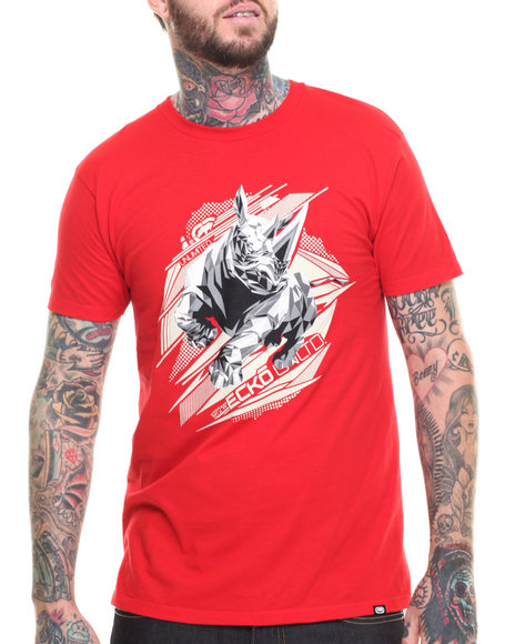 Ur-ID 216237 Ecko - Men Red Rhino T-Shirt