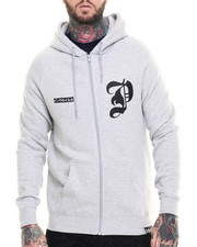 Men - SHADOW ZIP UP HOODIE