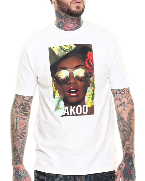 AKOO - Men White South Pacific Tee