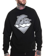Pullover Sweatshirts - WAVES CREWNECK SWEATSHIRT