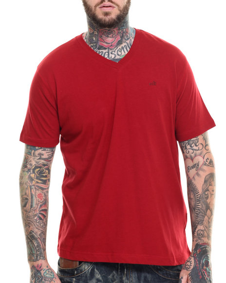 Akoo - Men Red Universal V-Neck Tee