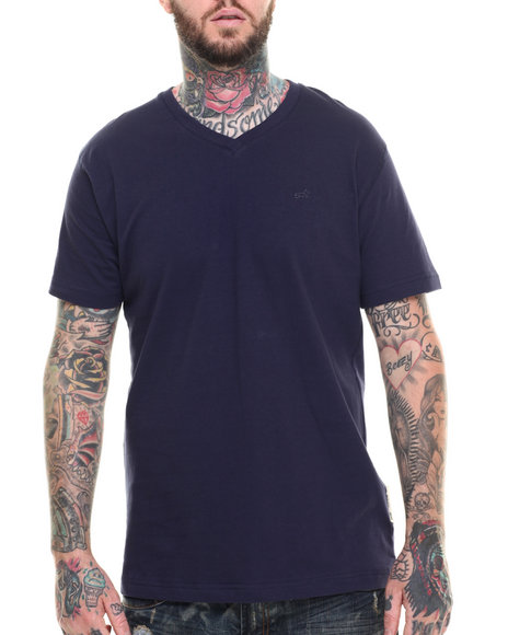 AKOO - Men Navy Universal V-Neck Tee