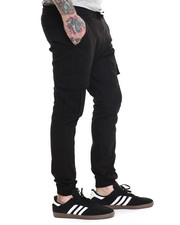 Basic Essentials - Cargo Jogger Pants