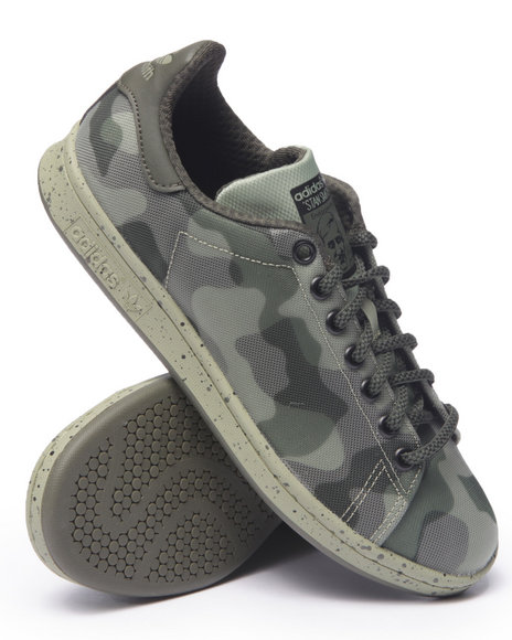 Ur-ID 216296 Adidas - Men Olive Stan Smith Engineered Mesh Camo