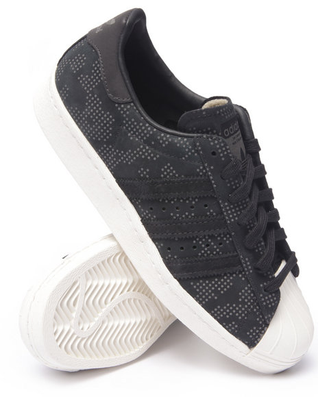 Ur-ID 216298 Adidas - Men Black Superstar 80S Dot - Camo