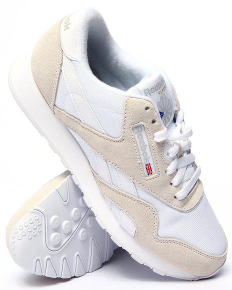 Ur-ID 216251 Reebok - Men White C L Nylon