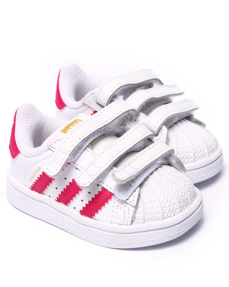 Adidas - Girls Pink Superstar Inf Sneakers (Infant) - $36.99