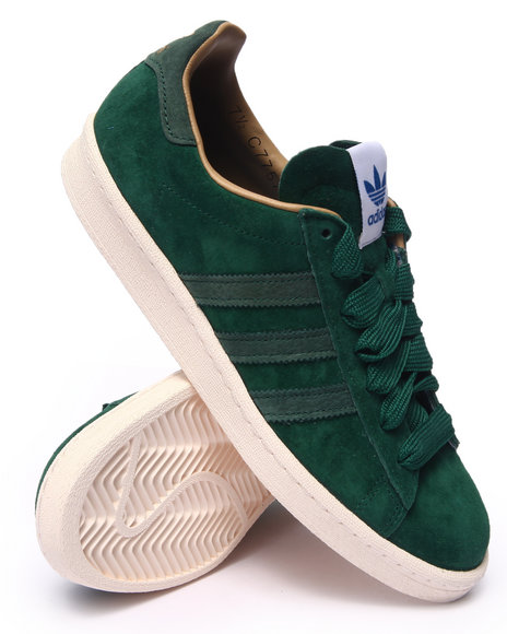Ur-ID 216300 Adidas - Men Green Campus 80S Suede