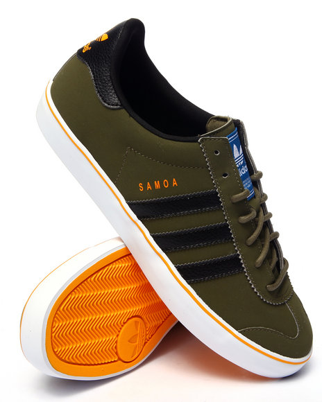 Ur-ID 216291 Adidas - Men Olive Samoa Vulc Lo
