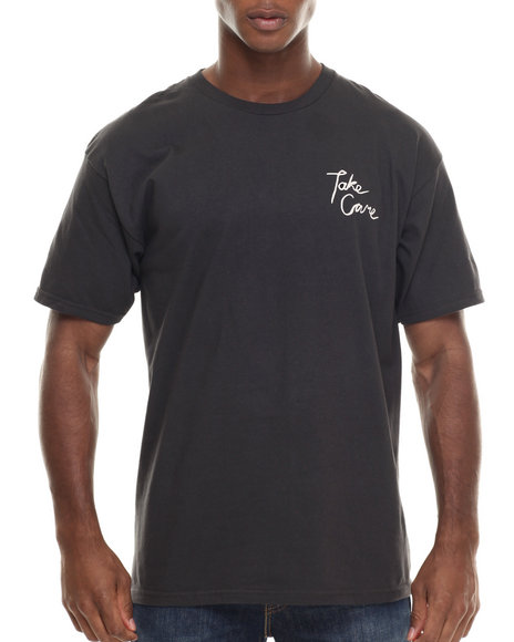 Brixton - Men Black Take Care Standard Tee