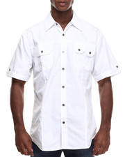 Men - Basic Solid S/S Button-Down