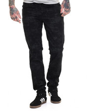 Levi's - 511 Slim Fit Black Glitch Twill Pants