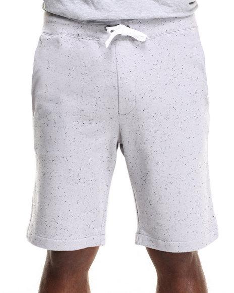Ur-ID 216260 WESC - Men Silver Argot Slub Fleece Shorts