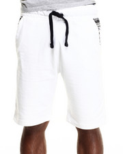Men - Native Print Trim Sweatshorts