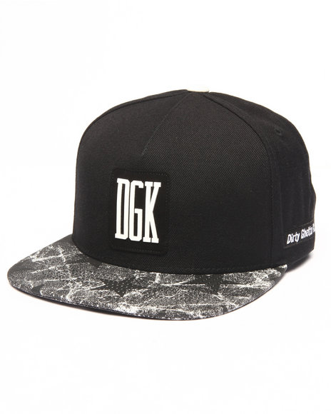Ur-ID 223126 DGK - Men Black Unfollow Strapback Cap