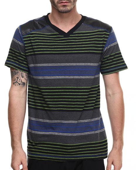 Buyers Picks - Men Black Oz V-Neck S/S Tee