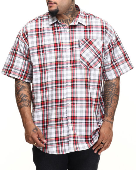Ecko - Men Red Julius S/S Button-Down (B&T)