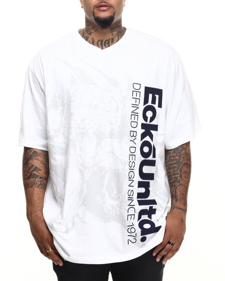 Ecko - Men White Animal S/S T-Shirt (B&T)