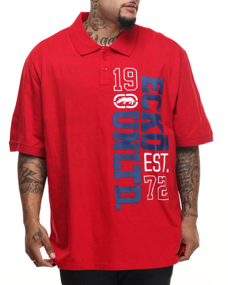 Ecko - Men Red Seven Deuce Polo (B&T)