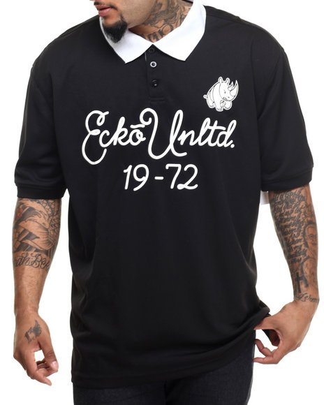 Ecko - Men Black Mesh Polo (B&T) - $44.99