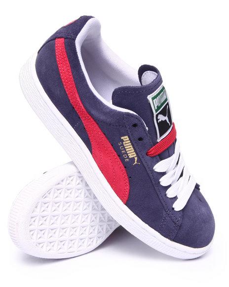 Ur-ID 216364 Puma - Women Blue Suede Classic Sneakers