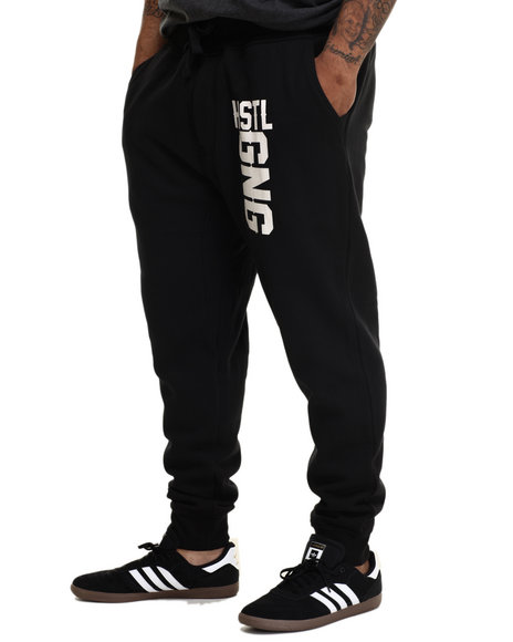 Hustle Gang - Men Black Hustle Gang Jogger Sweatpants