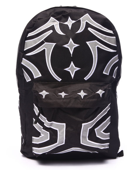 Waimea Men Tribal Reflective Backpack Black