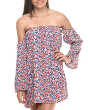 ALI & KRIS - Off Shoulder Boho Chic Dress