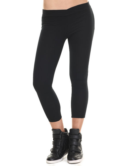 Ur-ID 216440 Fashion Lab - Women Black Seamless Leggings