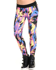 Women - Acid Palm Legging