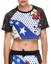 Women - Rita Ora Super Crop Tee