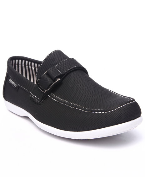 Akademiks - Men Black Buckle Casual Shoe