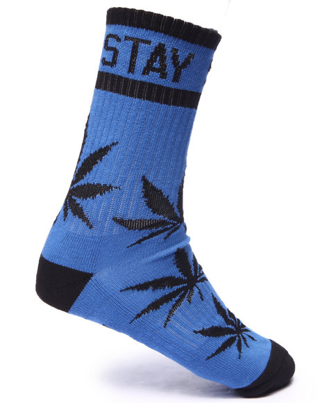 Dgk Men Stay Smokin' Crew Socks Black - $6.99