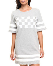Women - Checkmate Jersey Dress