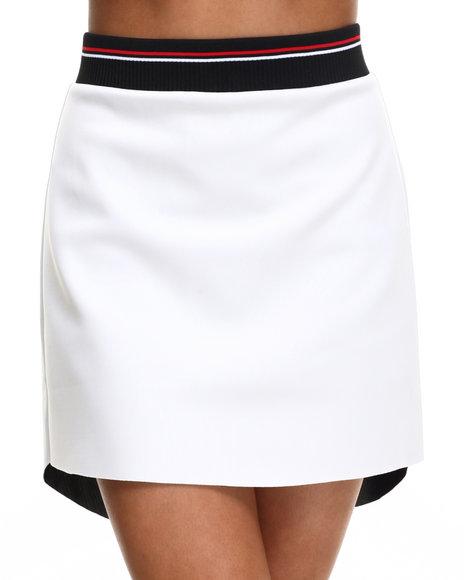 Ur-ID 216495 Street Style - Women White Chill Skirt