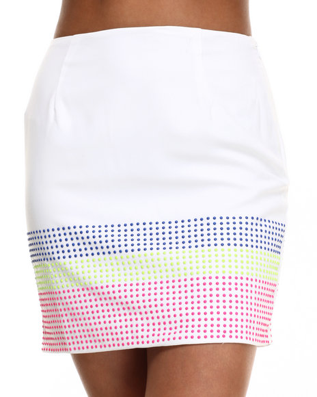 Ur-ID 216501 Street Style - Women White Candy Skirt