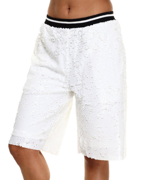 Ur-ID 216503 Street Style - Women White Hard In The Disco Culotte Short